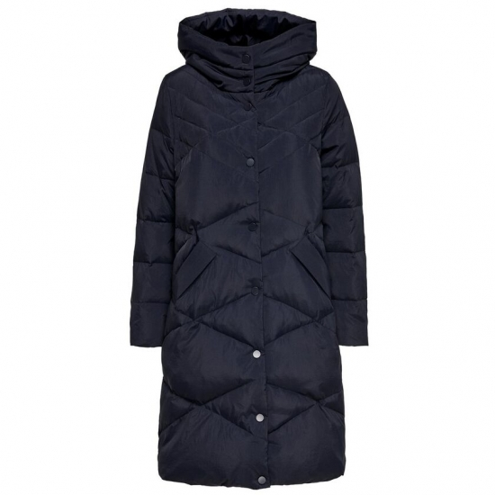 Long Length Custom Size Women Hoodied Quilt Jacket