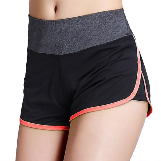 Women Seamless Yoga Shorts High Waist Sports Leggings Running Athletic Short Pants Gym Workout Wear