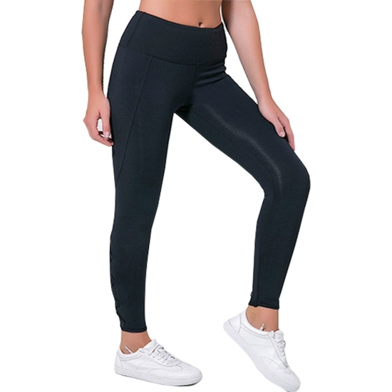 Women Stretched Leggings For Yoga and Running Fitness Wear Leggings