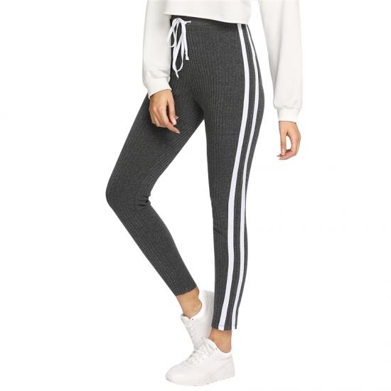 Active Women Sweatpants High Waist Sport Running Gym Stretch Sports Pants Casual Ladies Girls